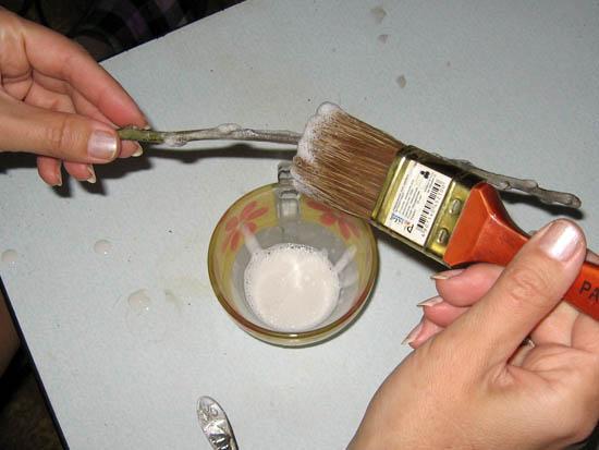 Иней своими руками из соли