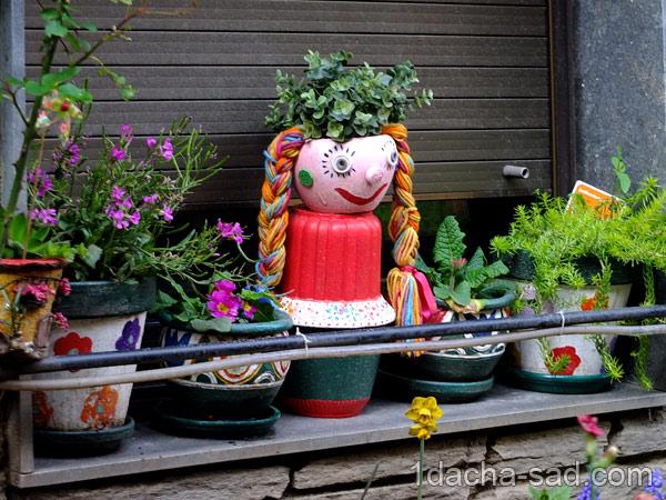 украшение сада своими руками фото (8)