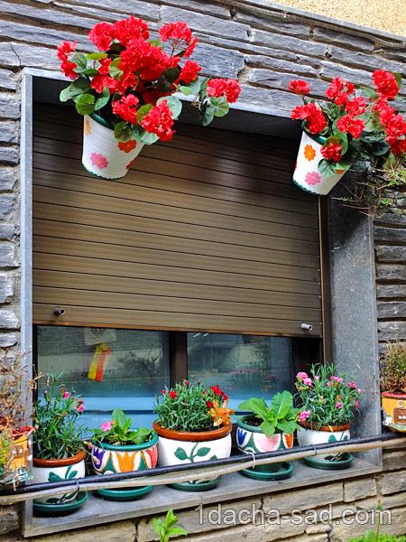 украшение сада своими руками фото (10)