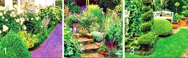 маленький сад дизайн