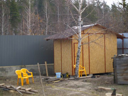 Каркасная баня - руководство по постройке
