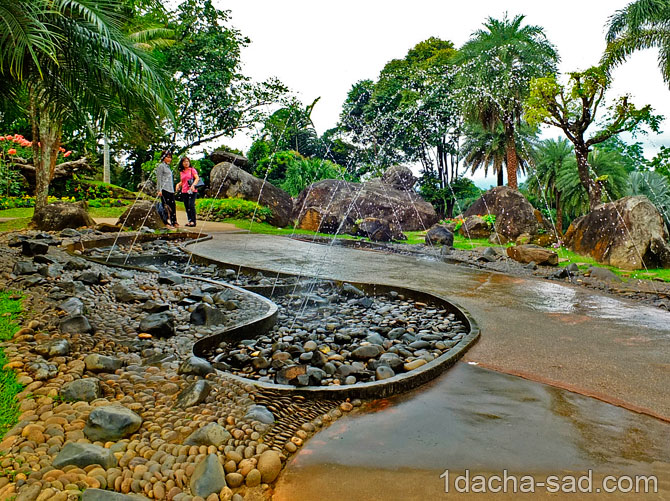 красивый сад Mae Fah Luang (7)