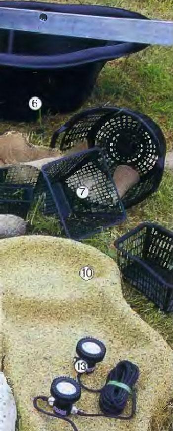 как обустроить декоративный водоем на участке 41