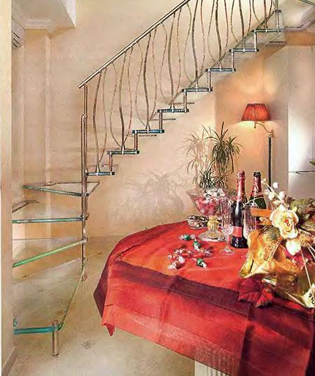 Виды лестниц на второй этаж или мансарду в доме 5