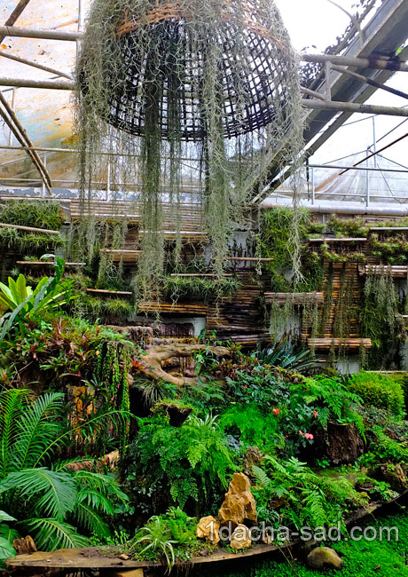 красивый сад Mae Fah Luang (18)