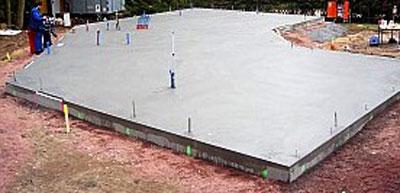 УШП фундамент - готовый