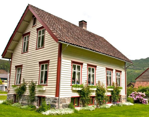 Дома в скандинавском стиле - норвежские дома 10