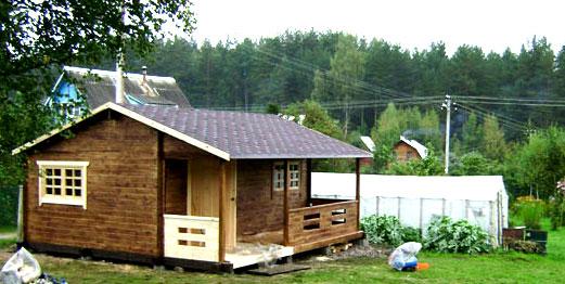 простенький дачный домик 2