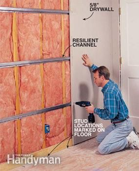 Звукоизоляция стен в помещении