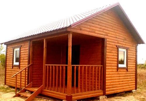 простенький дачный домик 4