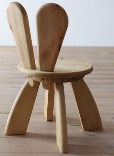 Детский стульчик с ушками