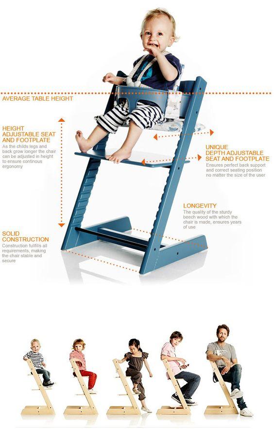 Безразмерный детский стульчик для кормления