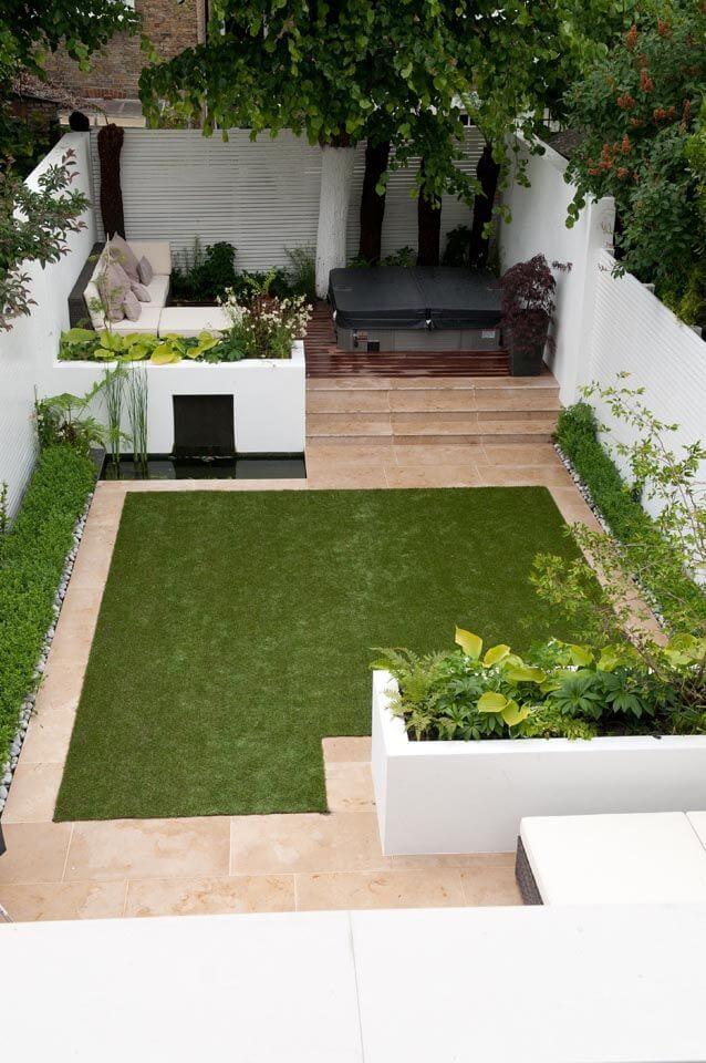 Дизайн маленькой придомовой территории