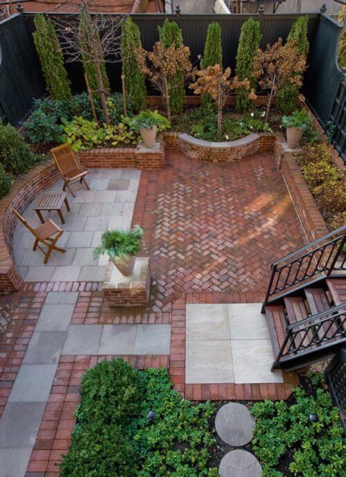 Идеи ландшафтного дизайна в маленьком дворе