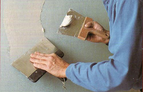подготовка стен под покраску 3