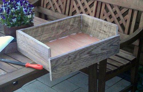 Как сделать деревянный ящик из досок 100