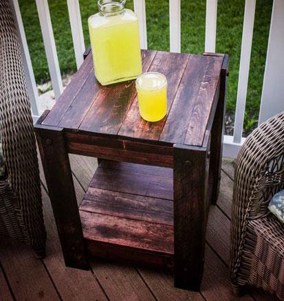 Кофейный столик из поддона