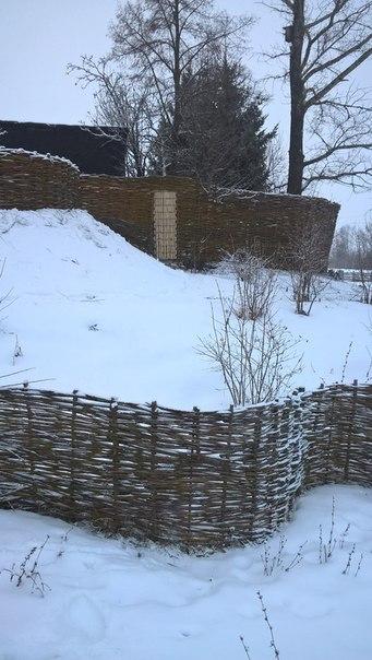 Идеи плетней на даче