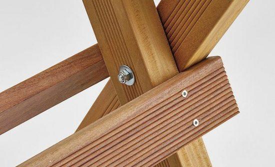 Козлы для распиловки дров своими руками - соединения конструкции