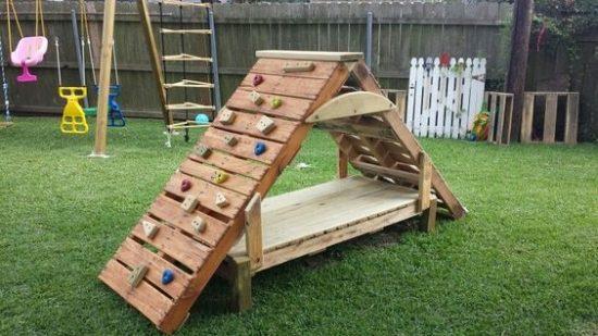 Детские площадки своими руками варианты