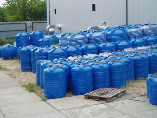 Емкость для воды на дачу