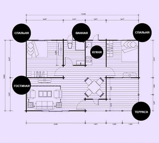 Дачный Домик Своими Руками — 7 проектов Каркасных Домов Фото