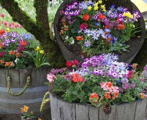 Дачные поделки в саду своими руками фото